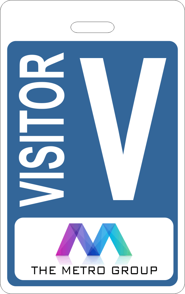 Company Logo Visitor Badge
