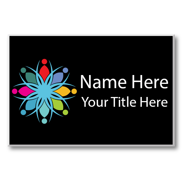 Full Color Custom Name Tag - 2