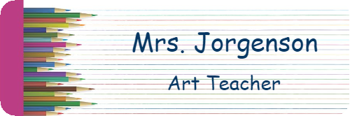 School Teacher Pencil 2 Line Name Tag