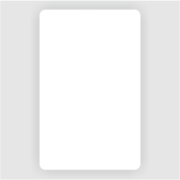 Photo ID Blank - Vertical