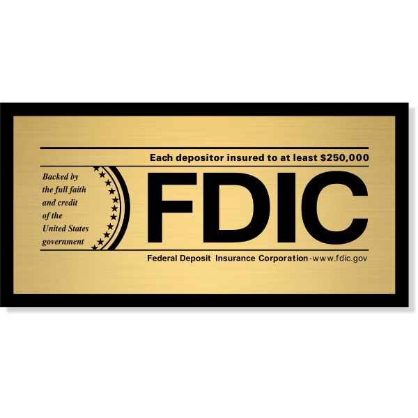 FDIC Sign for Banks & Financial Institutions | 4