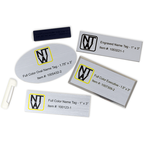 Name Tag Sample Kit