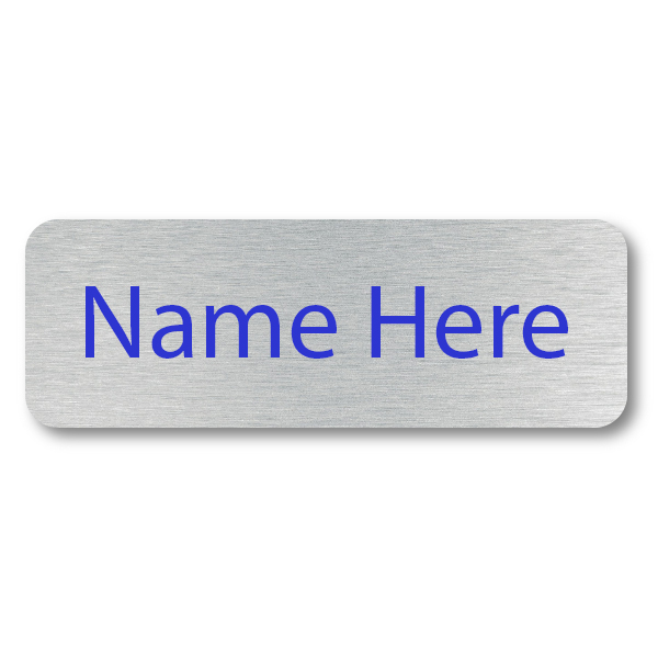 1 Line UV Printed Custom Name Tag