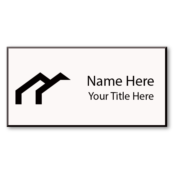 Plastic Engraved Name Tag