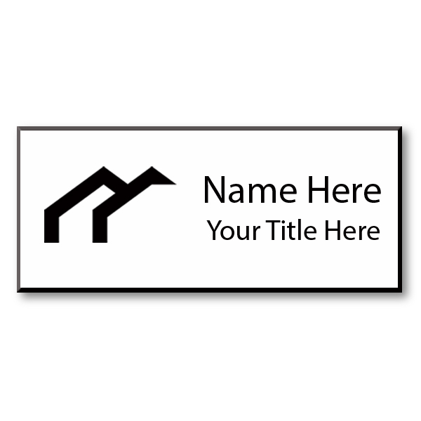 Laser Engraved Name Tag - 1.5
