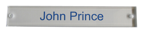 Acrylic Wall Name Plate