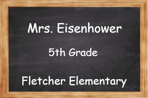 School Teacher Chalk Board 3 Line Name Tag