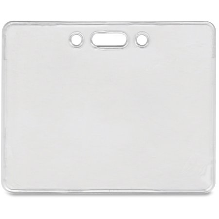 Clear ID Badge Holder (Horizontal)