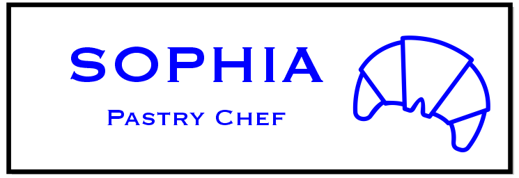 Croissant Roll Bakery Rectangle Name Tag