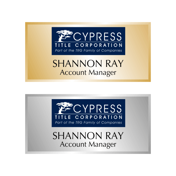 Cypress Title Name Tag
