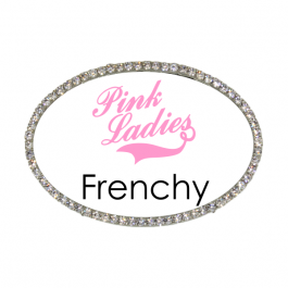 Pink Ladies Frenchy Costume Name Tag