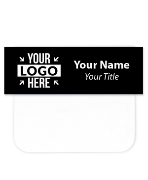 """Engraved Name Tag with Pocket Badge Adapter - 1"""" x 3"""""""