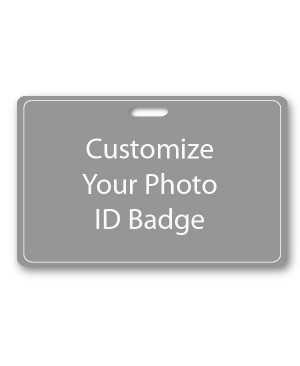 Custom Horizontal ID Card