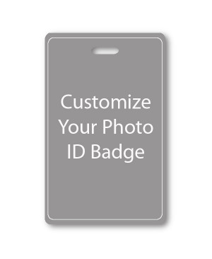 Custom Vertical ID Card