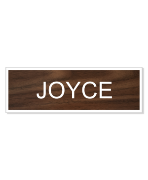 Joyce Byers Costume Name Tag