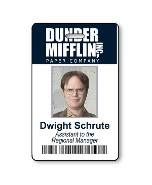 Dwight Schrute Halloween Photo ID