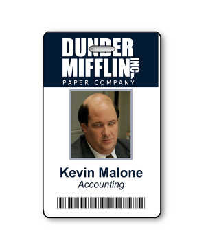 Kevin Malone Halloween Photo ID