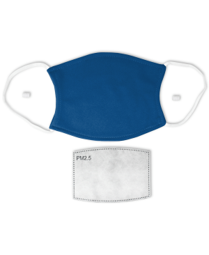 Classic Blue Adult Face Mask