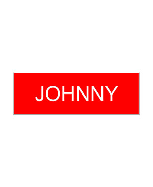 Johnny Schitts Creek Name Tag