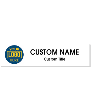 Left Logo Full Color 2 by 8 inch Wall Plate