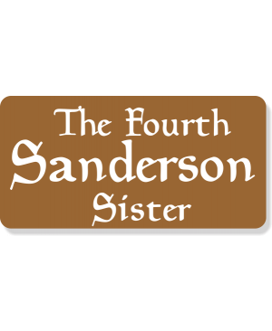 The Fourth Sanderson Sister Costume Name Tag