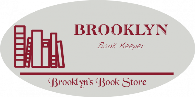Book Store 3 Line Oval Boutique Name Tag