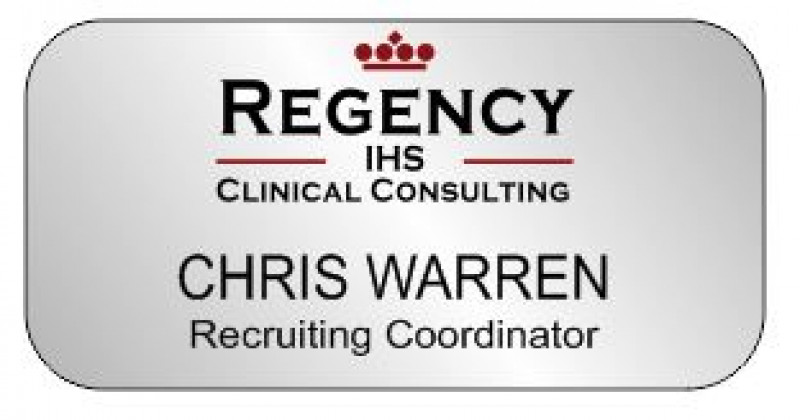 regency name tags - clinical consulting name badge
