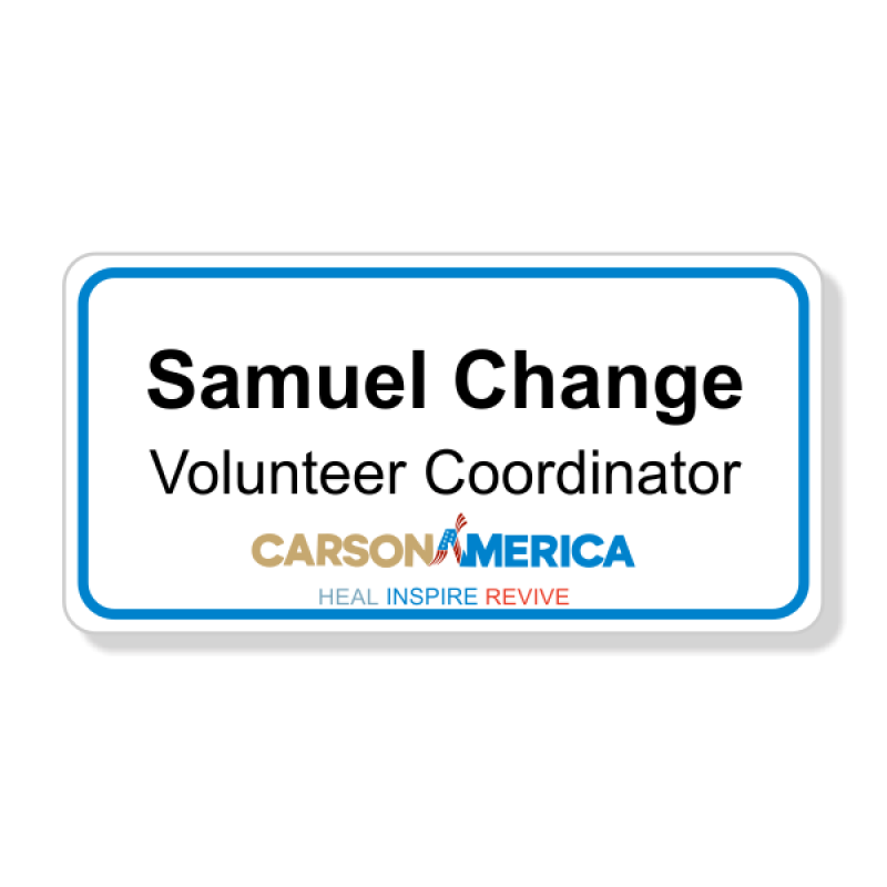 Ben Carson Presidential Name Badge