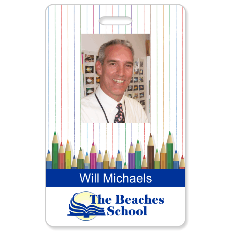 Customizable School Picture ID
