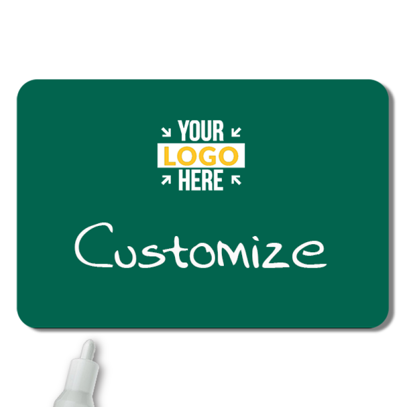 Customized 2 x 3 Chalkboard Reusable Name Tag