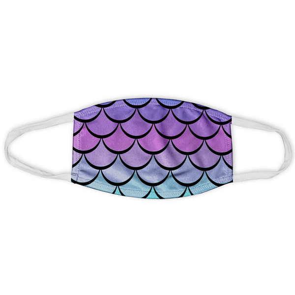 Mermaid Scales Face Mask