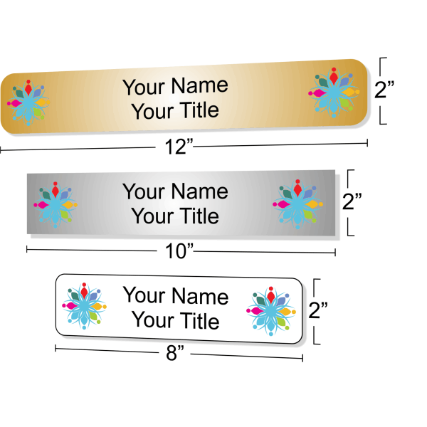 Full Color Personalized Name Plate