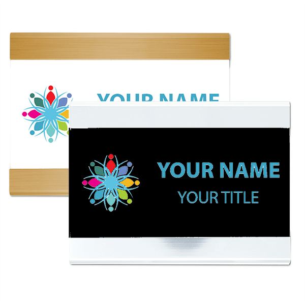 Full Color Plastic Bar Sign with Holder - 4