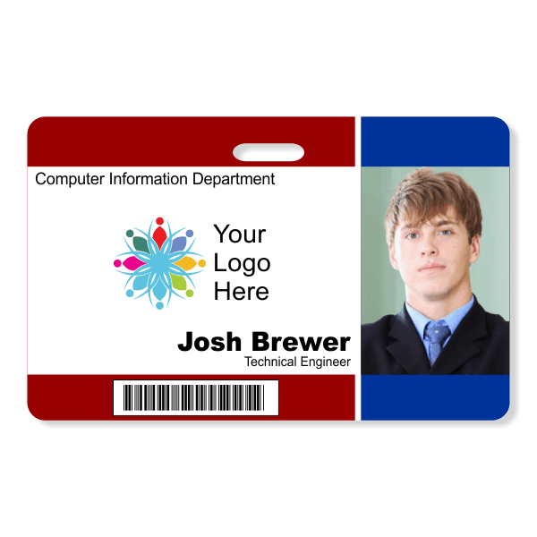 Photo ID Badge - Style105