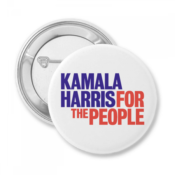 Kamala Harris Presidential Campaign Button