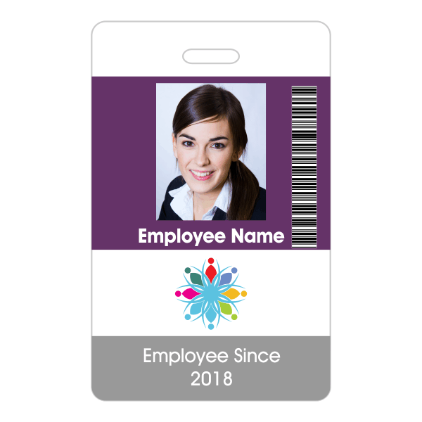 Primary Barcoded ID Badge