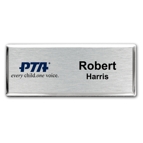 PTA Fancy Small Name Tag