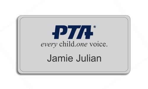 PTA Premier Color Name Badge