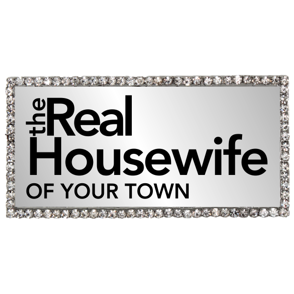 Real Housewife Sparkle Costume Name Tag