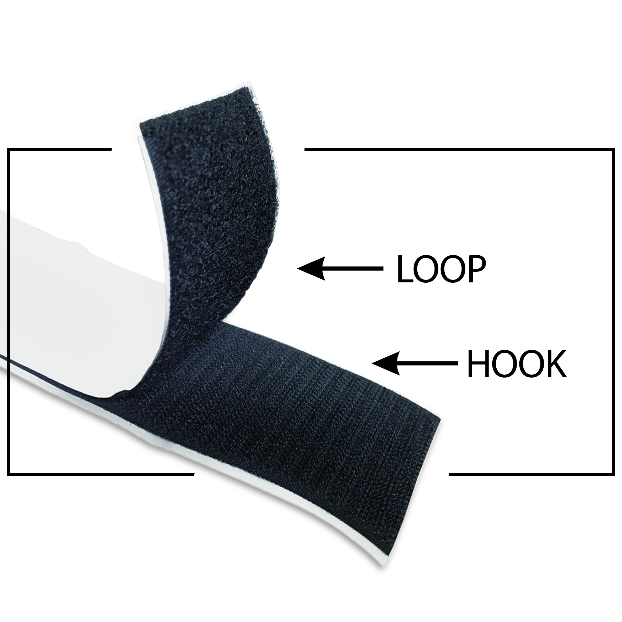 Self-Adhesive Velcro® Strip | 3 Inch