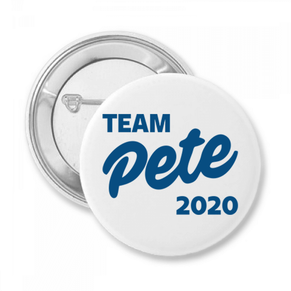 Team Pete Button