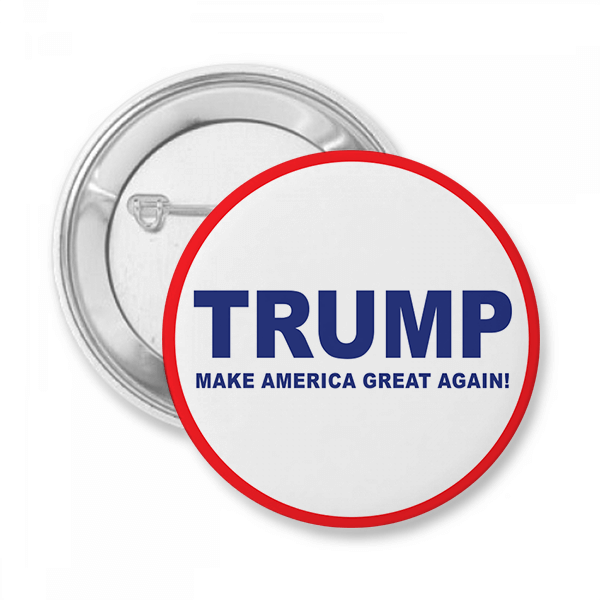 Trump Presidential Campaign Button