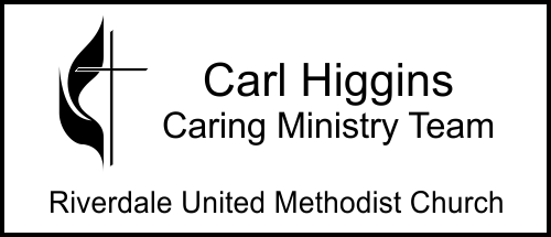 United Methodist Church Logo Name Tag - Medium