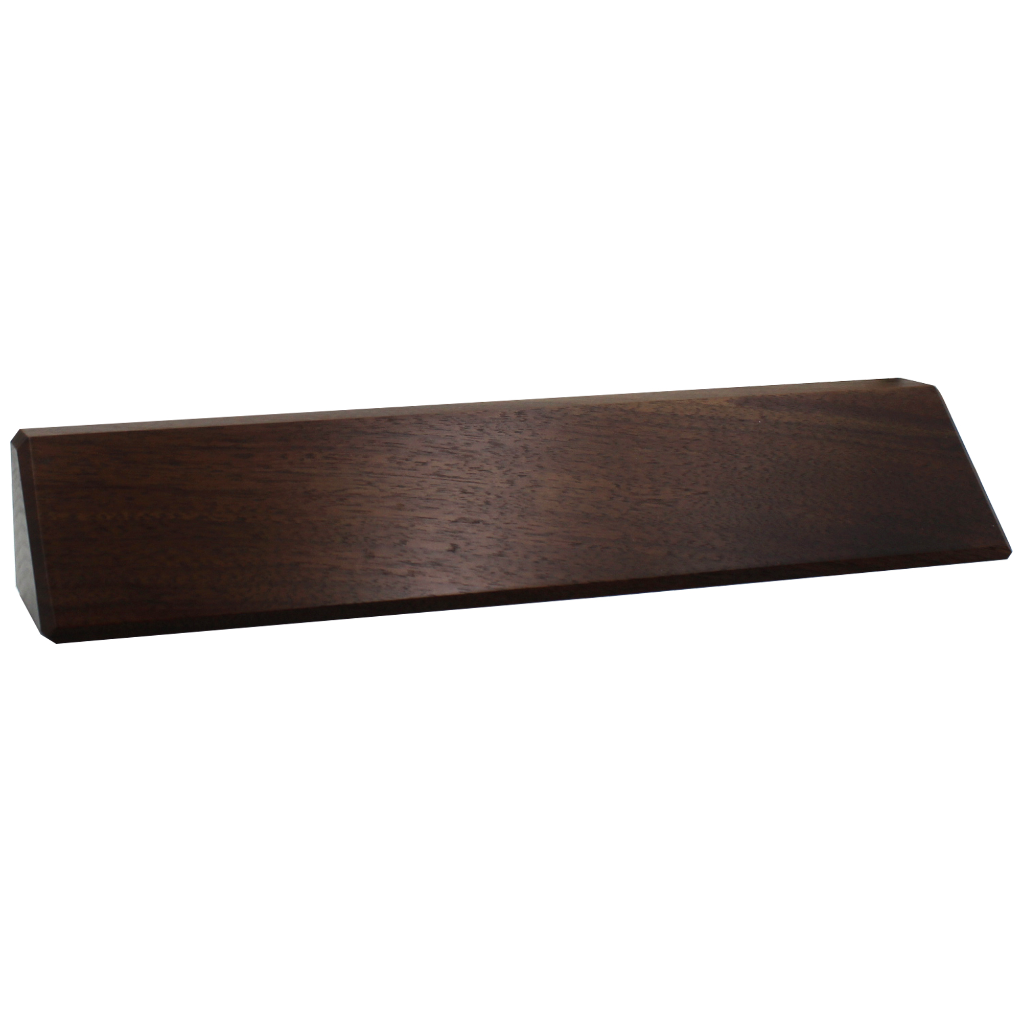 Genuine Wood Desk Wedge with Optional Logo