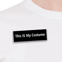 This is my Costume Name Tag
